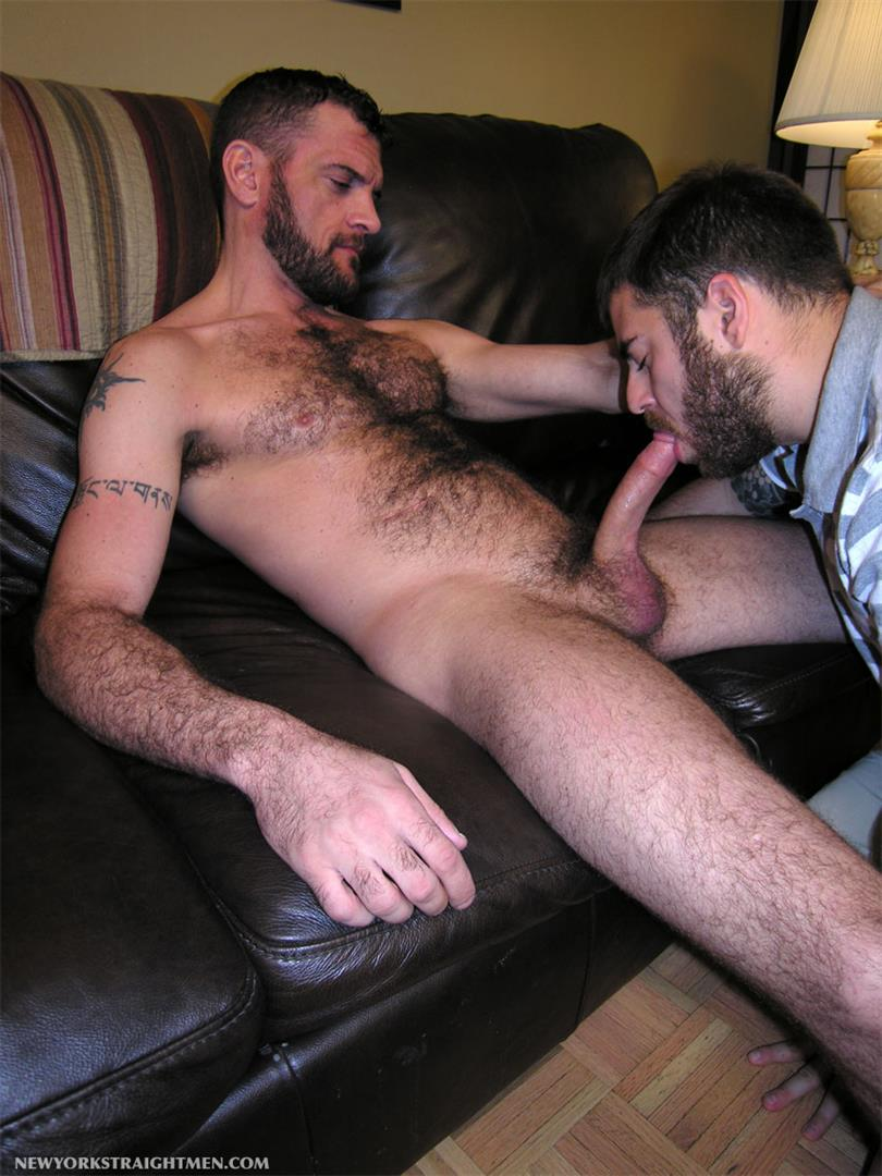 Black Hairy Hunk Toying His Huge Cock
