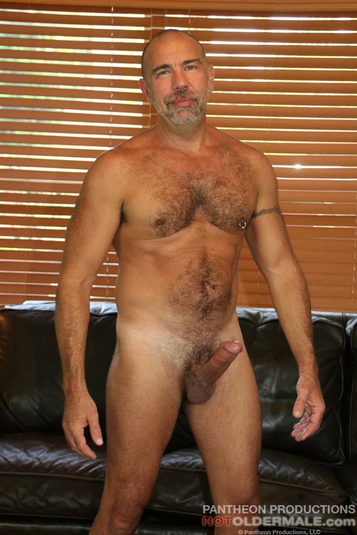 Hot-Older-Male-Jason-Proud-Hairy-Muscle-Daddy-With-A-Big-Thick-Cock-Amateur-Gay-Porn-01 Hairy Muscle Daddy Stroking His Thick Hairy Cock