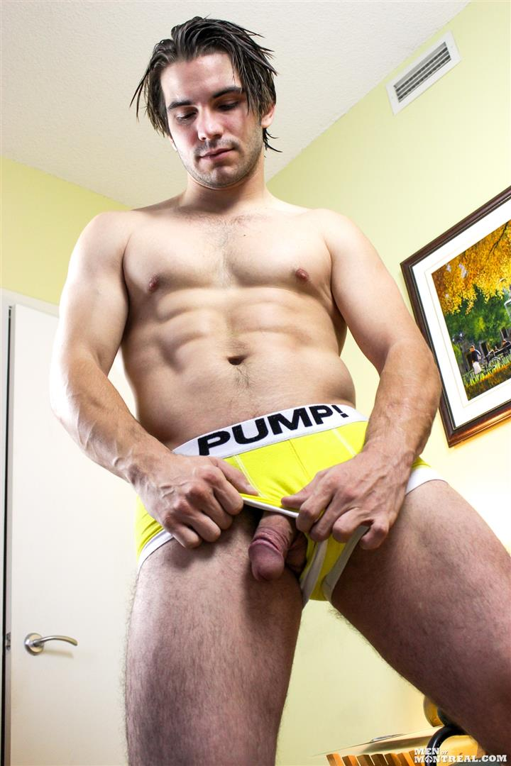 Men-of-Montreal-Mattice-LeRock-Canadian-Muscle-Hunk-Jerking-His-Big-Uncut-Cock-Amateur-Gay-Porn-06 Beefy Canadian Hunk Jerking Off His Big Uncut Cock