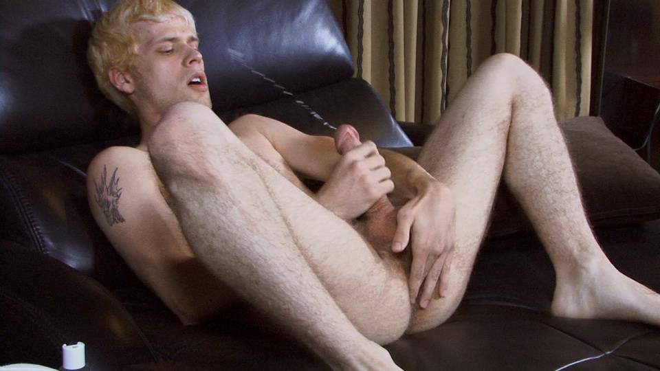 Southern-Strokes-Cory-Blond-Texas-Hairy-Twink-With-A-Huge-Cock-Amateur-Gay-Porn-16 Amateur Hairy Bisexual Twink From Texas Stroking His Huge Cock