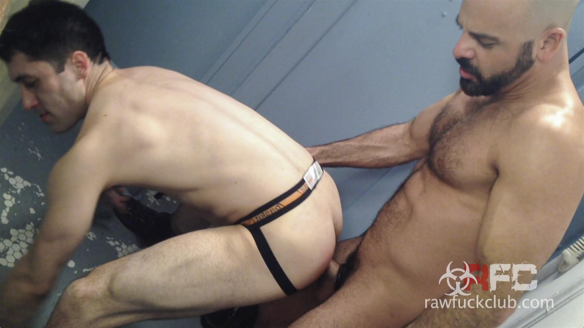 Raw-Fuck-Club-Adam-Russo-and-Kyle-Ferris-Anonymous-Bareback-Sex-Amateur-Gay-Porn-6 Adam Russo Barebacking A Stranger In A Dirty Bar Bathroom