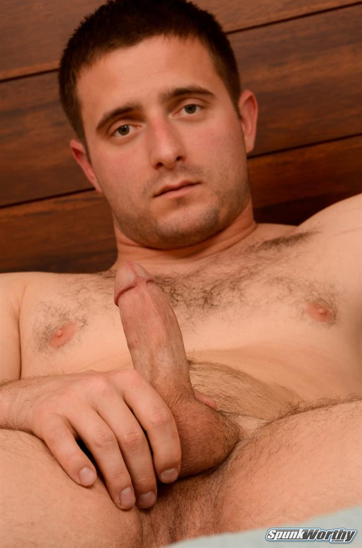 SpunkWorthy-Nash-Naked-Navy-Officer-Jerking-Off-Big-Cock-Amateur-Gay-Porn-18 Amateur Straight Navy Officer Stroking His Thick Cock