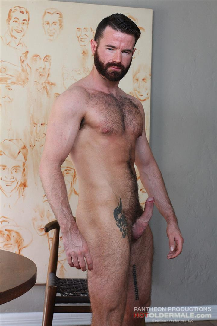 Hot-Older-Male-Brendan-Patrick-Hairy-Dad-Naked-Amateur-Gay-Porn-10 Hairy Muscular Daddy Conor Harris Barebacks Brendan Patrick