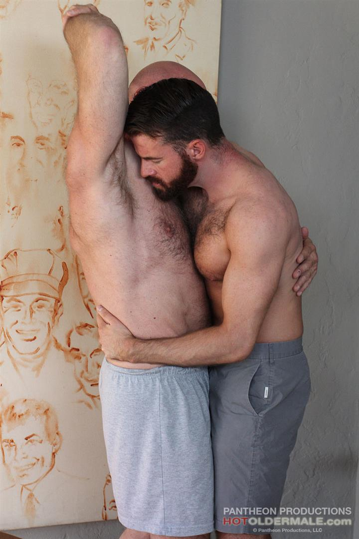 Hot-Older-Male-Conor-Harris-and-Brendan-Patrick-Hairy-Muscle-Daddy-bareback-Amateur-Gay-Porn-04 Hairy Muscular Daddy Conor Harris Barebacks Brendan Patrick
