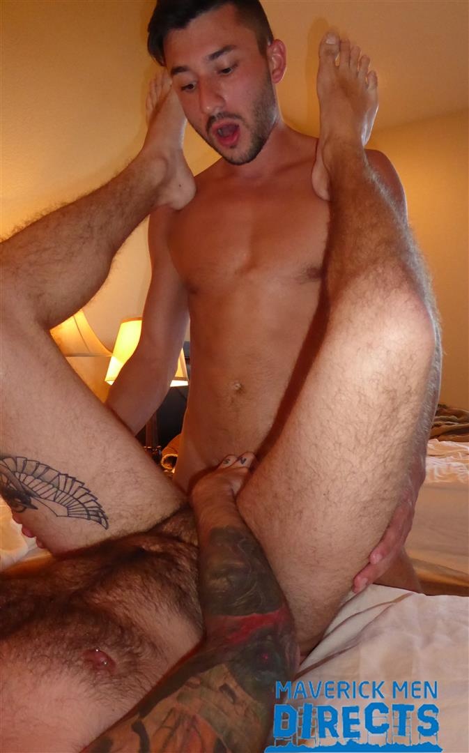 Maverick-Men-Directs-Real-Guys-Having-Bareback-Sex-Free-Video-12 Spit On That Hairy Hole And Bareback That Ass