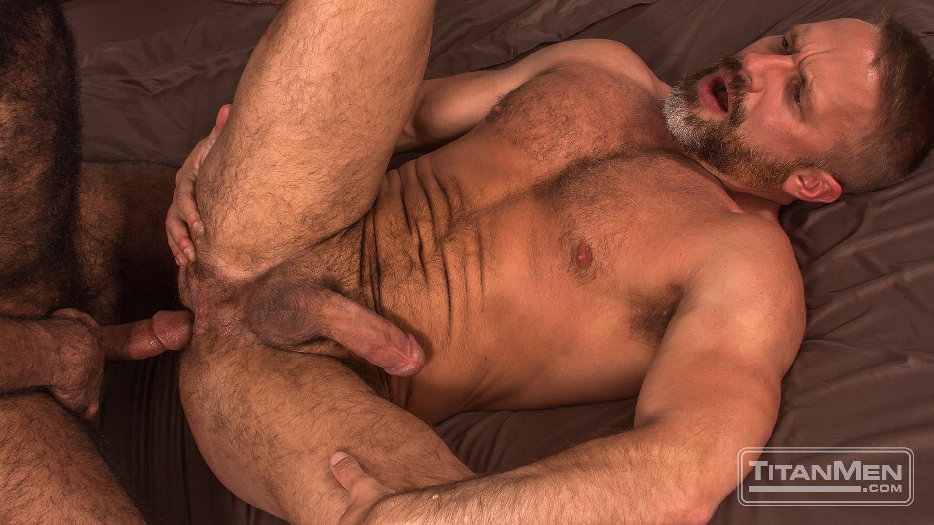Titan-Men-Dirk-Caber-and-Daymin-Voss-Hairy-Muscle-Daddy-and-Big-Black-Dick-Fucking-30 Hairy Muscle Daddy Dirk Caber Flip Fucking With Hairy Black Muscle Hunk Daymin Voss