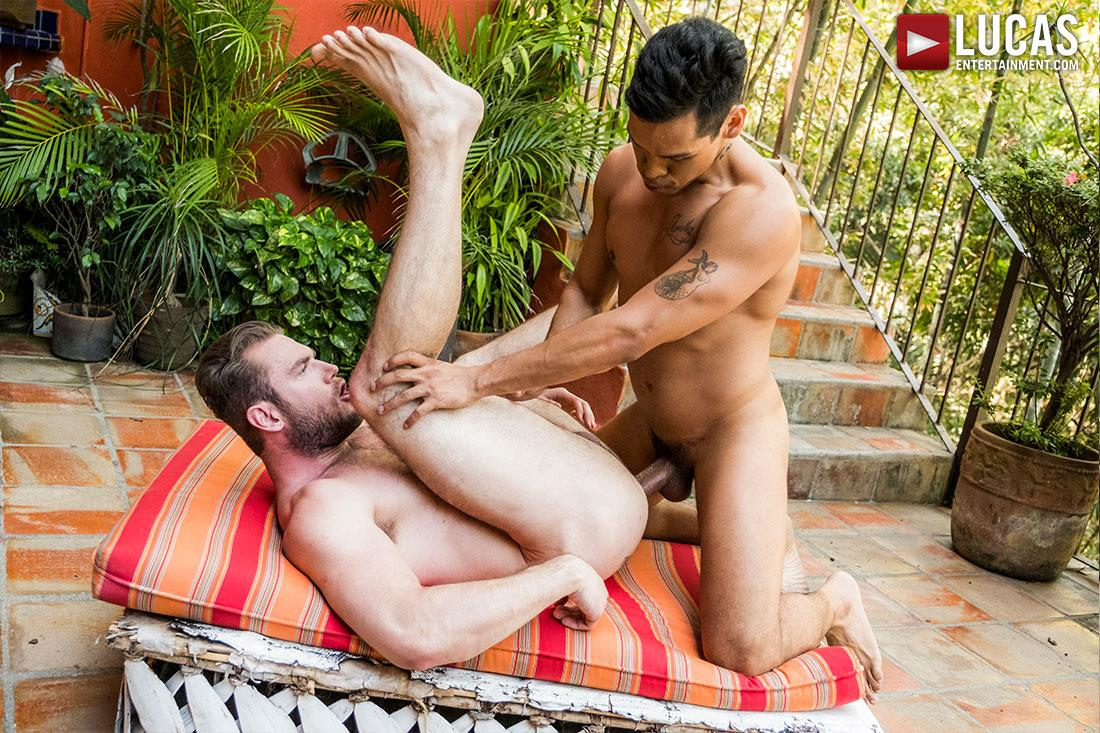 Lucas-Entertainment-Alejandro-Castillo-and-Ace-Era-Big-Uncut-Mexican-Cock-Bareback-Video-12 Hairy Muscle Hunk Takes A Big Uncut Mexican Cock Raw Up The Ass
