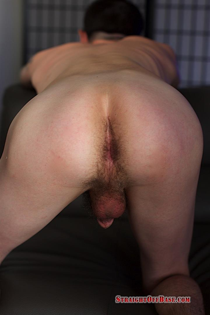 Straight-Off-Base-Sonny-Naked-Navy-Officer-Jerking-His-Cock-13 23-Year Old Straight Navy Petty Officer Jerking Off