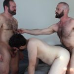 Topher-Phoenix-and-MuscleBul-and-David-Coyote-Daddies-Breeding-A-Chubby-Cub-11-150x150 Topher Phoenix and MuscleBull Take Turns Breeding Chubby Cub David Coyote
