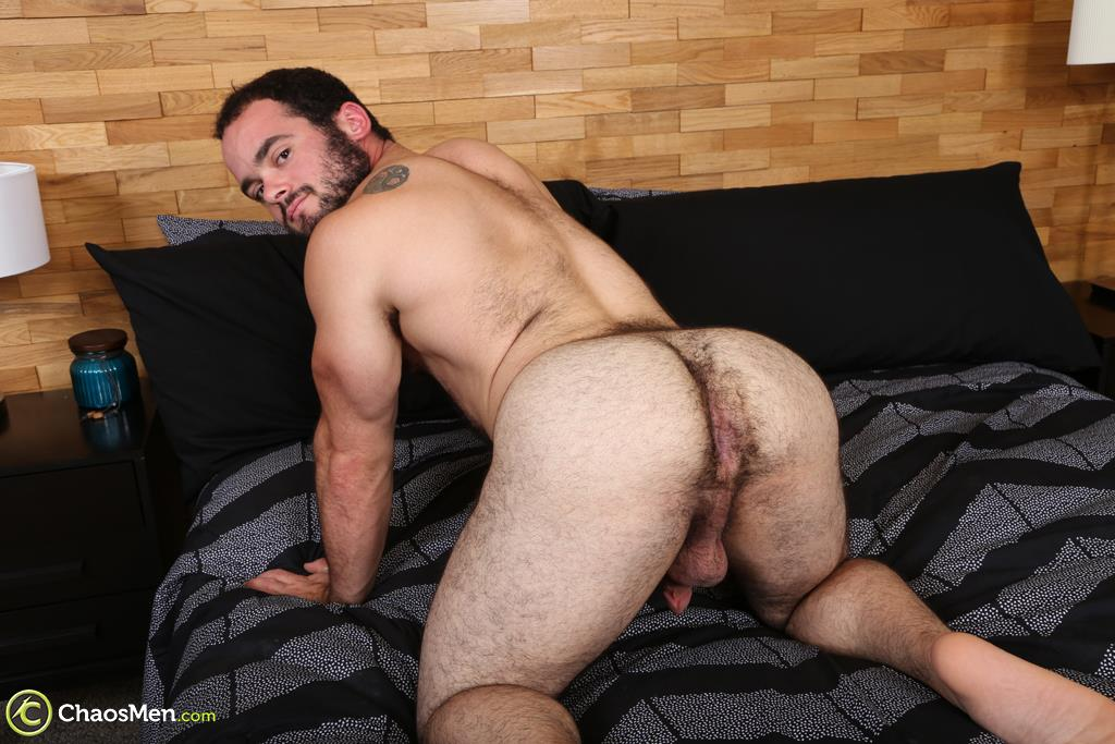 Chaosmen-Steve-Strongarm-Beefy-Hairy-Muscle-Hunk-Jerking-Off-30 Beefy Hairy Muscle Hunk Shows Off His Hairy Ass And Jerks Off