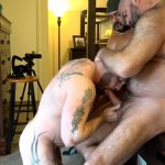 Muscle-Bear-Porn-Liam-Angell-and-Will-Angell-Daddy-Breeding-His-Boy-Gay-Sex-Video-10-150x150 Hairy Muscle Bear Daddy Will Angell Shares His Boy With A Hot Latino Top